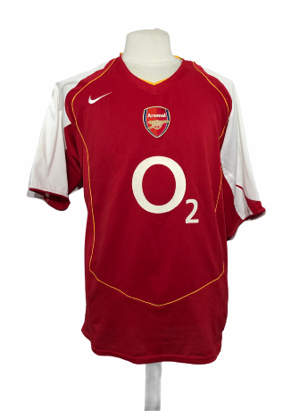 "Arsenal 2004-2005 HOME Taille ""XXL"""