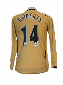 "Everton 2006-2007 THIRD Taille ""S"" 14 ROBERTS"