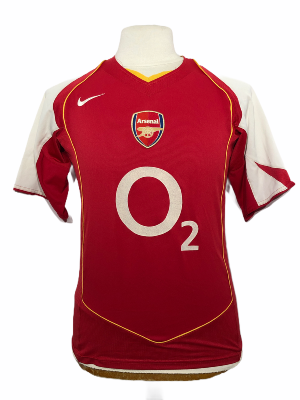 "Arsenal 2004-2005 HOME Taille ""S"""