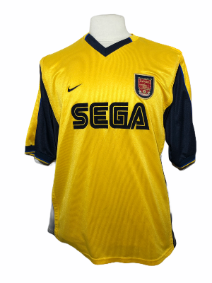 "Arsenal 1999-2000 AWAY Taille ""XL"""