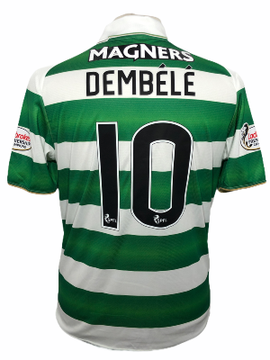 "Celtic Glasgow 2016-2017 HOME Taille ""M"" #10 DEMBELE"