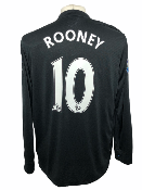 "Manchester United 2009-2010 AWAY Taille ""L"" #10 ROONEY"