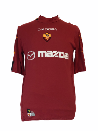 "AS Rome 2003-2004 HOME Taille ""XL"""