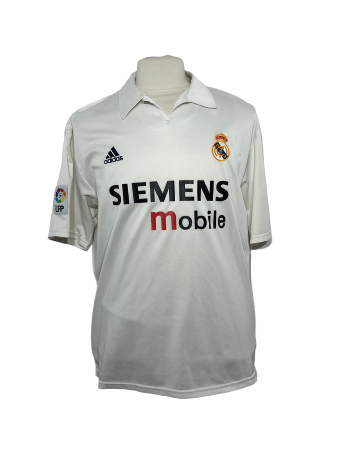 "Réal Madrid 2002-2003 HOME Taille ""XL"""