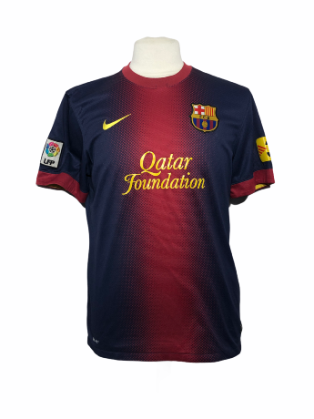 "FC Barcelone	2012-2013 HOME Taille ""S"""